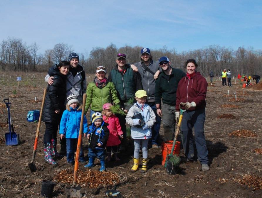 Rotary Forest Earth Day with L-SETAC