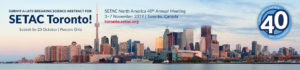 SETAC North America 40th Annual Meeting @ Metro Toronto Convention Centre | Toronto | Ontario | Canada